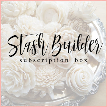 Stash Builder - Monthly Subscription Box _sola_wood_flowers