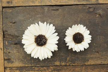 Sunflower - set of 12 - 2.5 inches _sola_wood_flowers