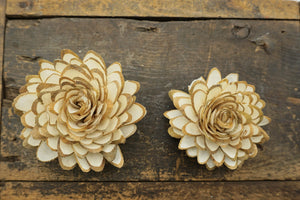 Woodland Lily™- set of 12- 2.5 inches _sola_wood_flowers