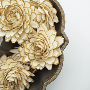 Woodland Lily™- set of 12-  3 inches _sola_wood_flowers