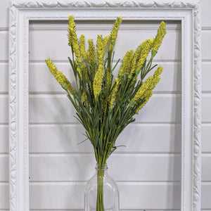 Yellow Veronica - faux/artificial filler _sola_wood_flowers