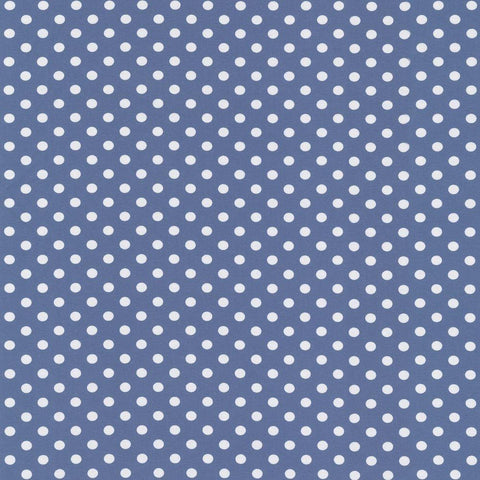 Blue Grey Polka Dots Jersey