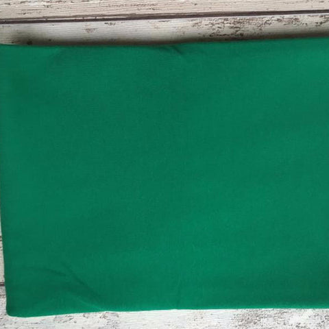 Forest Green Jersey Solid - Kailuna Fabrics Uk Jersey Fabric