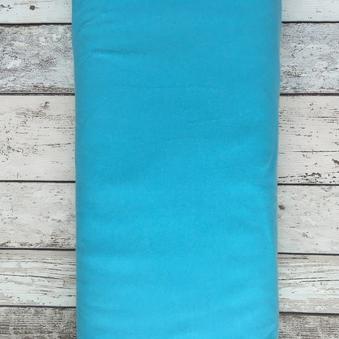 Bright Blue Jersey Solid - Kailuna Fabrics Uk Jersey Fabric