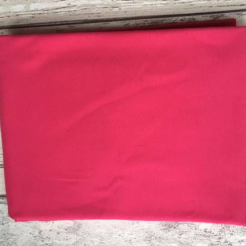 Hot Pink Jersey Solid PRE ORDER Sale - Kailuna Fabrics Uk Jersey Fabric