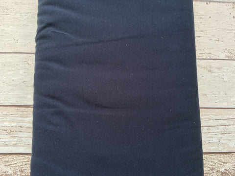 Navy Jersey Solid - Kailuna Fabrics Uk Jersey Fabric