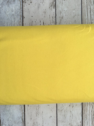 Bright Yellow Jersey Solid PRE ORDER SALE - Kailuna Fabrics Uk Jersey Fabric