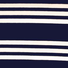 Navy and White Stripes Jersey