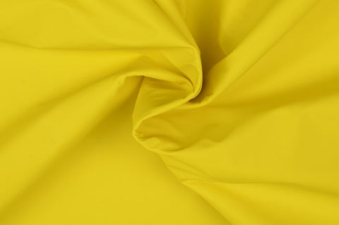 Yellow Raincoat Fabric