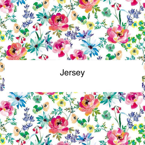 White spring flowers Jersey PRE ORDER