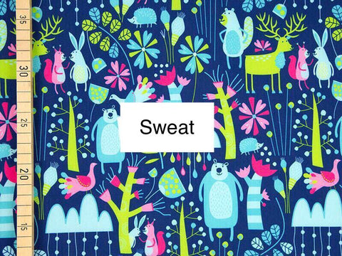 Bear Sweat PRE ORDER - Kailuna Fabrics Uk Jersey Fabric