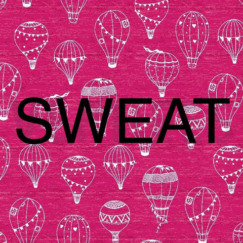 Pink hot air balloon sweat PRE ORDER