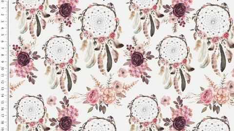 white dream catcher kailuna fabrics