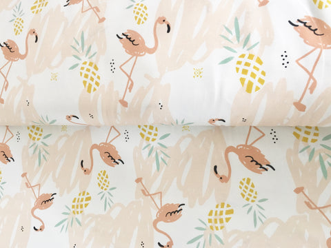 Flamingoes and Pineapples Organic Jersey