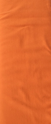 Burnt Orange Jersey Solid - Kailuna Fabrics Uk Jersey Fabric