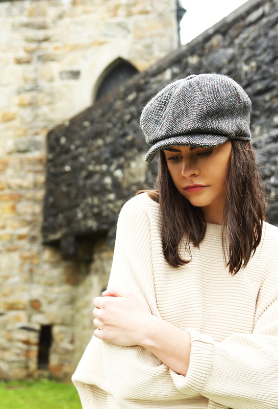 Hanna Hats Irish Tweed Vintage Headwear. Handcrafted in Donegal, Ireland since 1924.