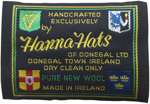 Authentic Hanna Hats Label