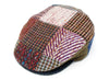Hanna Hats Vintage Cap Heavy Patchwork Tweed - Limited Edition