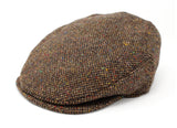 Hanna Hats Vintage Cap Tweed - Brown Fleck Salt & Pepper