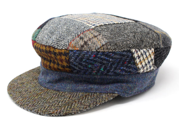 Skipper Cap Patchwork Tweed