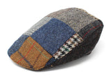 Hanna Hats Donegal Touring Cap Patchwork Tweed