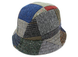 Eske Hat Patchwork Tweed