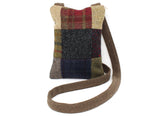 Hanna Hats Purse Bag Patchwork Tweed