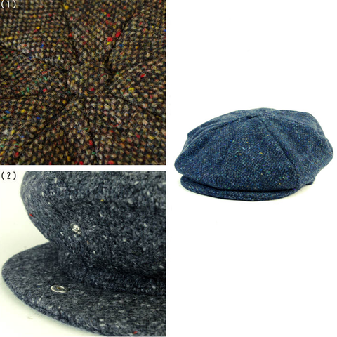 Example of Eight Piece Cap