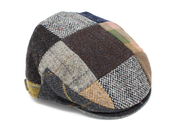 Hanna Hats Children's Cap Patchwork Tweed