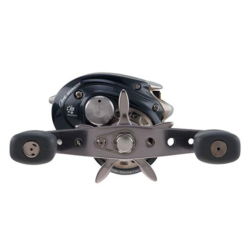 "ORRA Winch Low Profile Reel 5.4:1 Gear Ratio, 8 Bearing, 22"" Retrieve Rate, RH"