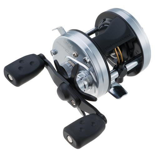 "Abu Garcia Ambassadeur C3 Baitcast Round Reel - 6600, 5.3:1 Gear Ratio, 4 Bearings, 26"" Retrieve Rate, 15 lb Max Drag, RH"