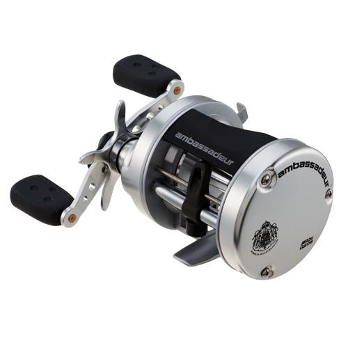 "Abu Garcia Ambassadeur S Casting Combo - 6500, 5.1:1 Gear Ratio, 11 lb Max Drag, 8'6"" 2pc Rod, Medium Power, RH"