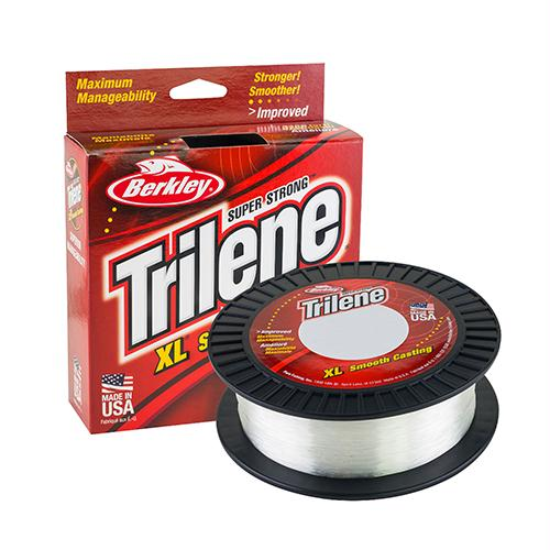 "Trilene XL Monofilament Service Spool - 1000 Yards, 0.014""Diameter, 14lb Tested, Clear"