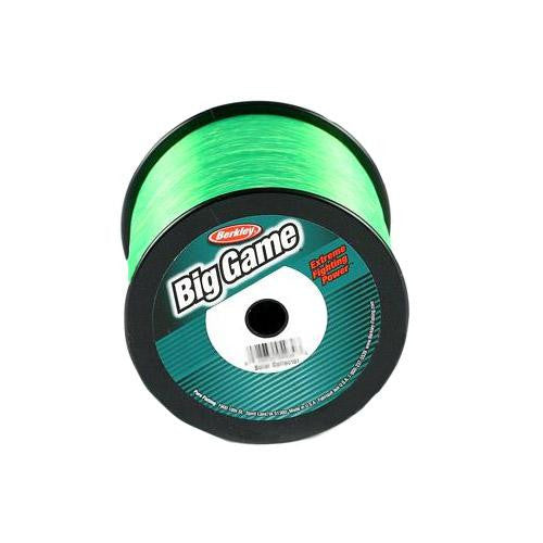 "Berkley Trilene Big Game Monofilament Line Spool - 595 Yards, 0.019"" Diameter, 25 lb Breaking Strength, Solar Collector"