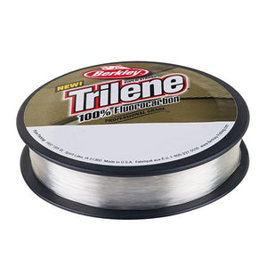 "Berkley Trilene 100% Fluorocarbon Professional Grade Line Spool - 110 Yards, 0.011"" Diameter, 8 lbs, Breaking Strength, Clear"