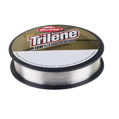 "Berkley Trilene 100% Fluorocarbon Professional Grade Line Spool - 110 Yards, 0.012"" Diameter, 10 lbs, Breaking Strength, Clear"
