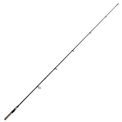 "Berkley Cherrywood HD Spinning Rods - 6'6"" Length 2pc Rod, 4-12 lb Line Rate, 1-8-5-8 oz Lure Rate, Medium-Light Power"
