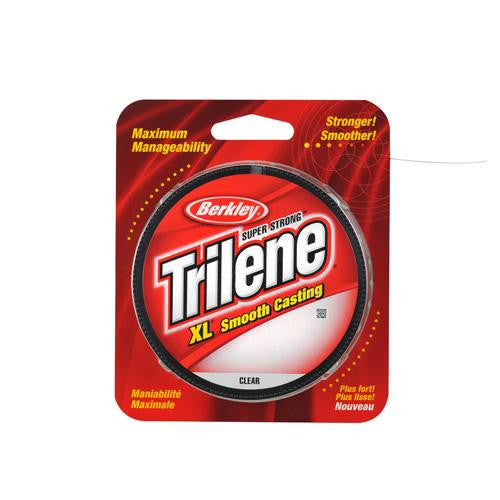 "Berkley Trilene XL Monofilament Line Spool - 330 Yards, 0.009"" Diameter, 6 lb Breaking Strength, Clear"