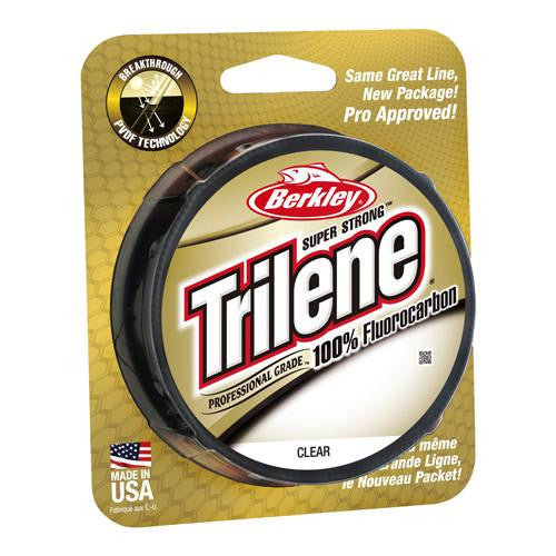 "Berkley Trilene 100% Fluorocarbon Professional Grade Line Spool - 200 Yards, 0.007"" Diameter, 4 lbs Breaking Strength, Clear"