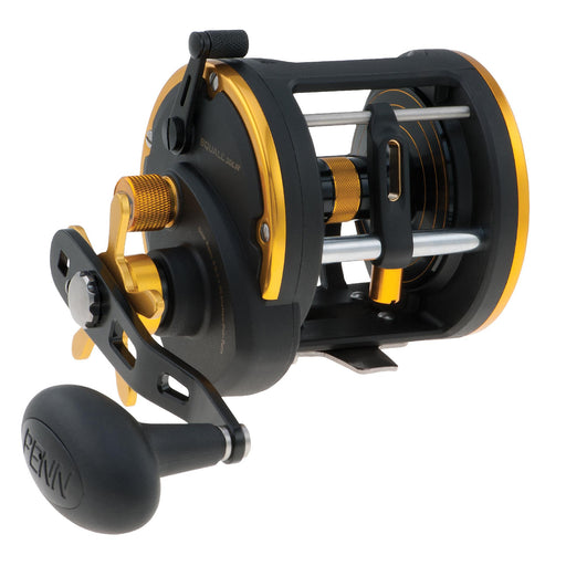 "Squall Levelwind Conventional Reel - 30, 4.9:1 Gear Ratio, 35"" Line Retrieve, 20 lb Max Drag, 3 Bearings, Right Hand"