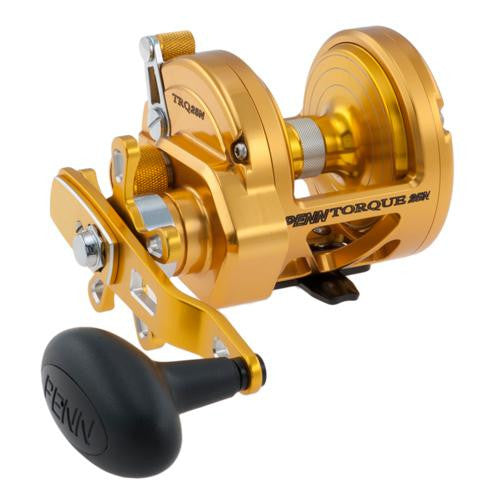 "Penn Torque Star Drag Convential Reel - 25, 6.0:1 Gear Ratio, 40"" Line Retrieve, 25 lb Max Drag, 8 Bearings, Right Hand"