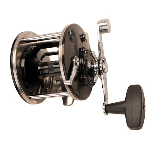 "General Purpose Level Wind Conventional Reel - 309 Reel Size, 2.8:1 Gear Ratio, 20"" Retrieve Rate. 15 lb Max Drag, Right Hand"