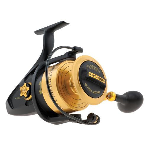 "Penn Spinfisher V Spinning Reel - 9500, 4.2:1 Gear Ratio, 39"" Line Retreieve, 40 lb Max Drag, Ambidextrous"