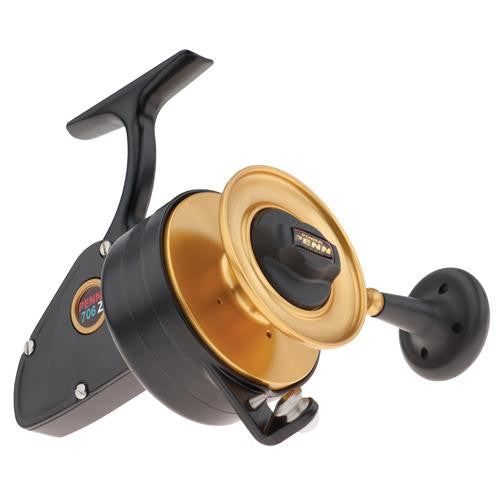 "Penn Z-Series Spinning Reel - 706, 3.8:1 Gear Ratio, 33"" Retrieve Rate, 15 lb Max Drag, 3 Bearing, Left Hand"