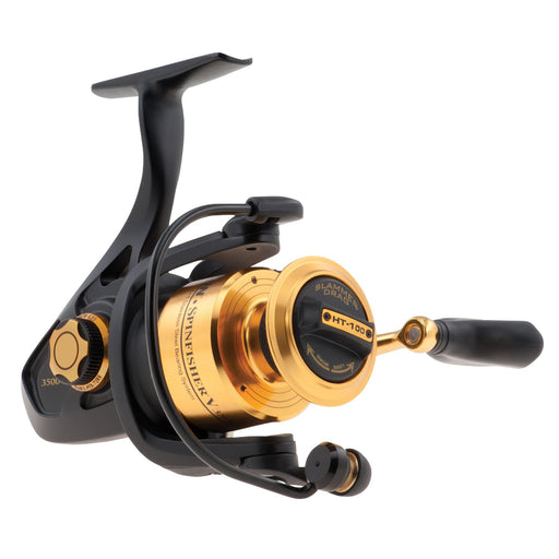 "Spinfisher V Spinning Reel - 3500, 6.2:1 Gear Ratio, 30"" Line Retrieve Rate, 20 lb Max Drag, Ambidextrous"