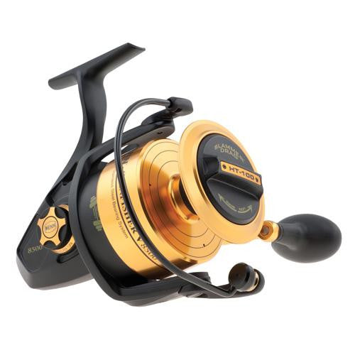 "Penn Spinfisher V Spinning Reel - 8500, 4.7:1 Gear Ratio, 42"" Line Retrieve, 35 lb Max Drag, Ambidextrous"