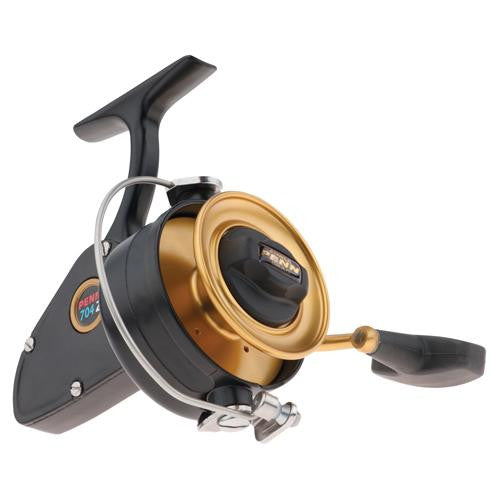 "Penn Z-Series Spinning Reel - 704, 3.8:1 Gear Ratio, 30"" Retrieve Rate, 15 lb Max Drag, 1 Bearing, Left Hand"