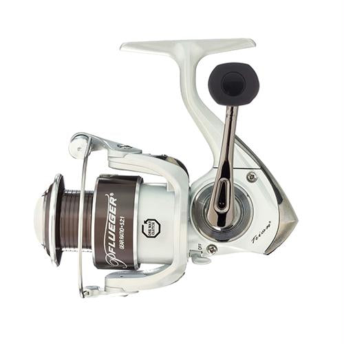 Trion Spinning Reel, 5.2: Gear Ratio, 7 Bearings, 10 lb Max Drag, Ambidextrous