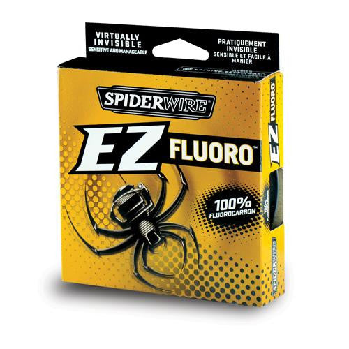 "Spiderwire EZ Fluorocarbon Line Spool - 200 Yards, 0.011"" Diameter, 8 lbs Break Strength, Clear"