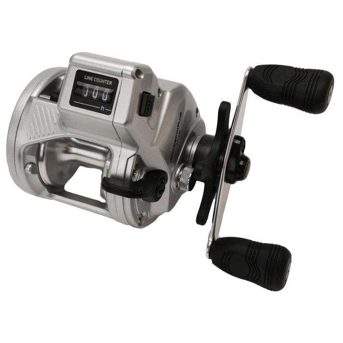 Accudepth Plus-B Line Counter Reel - Walleye Special w-Dual Paddle Handle, Heavy